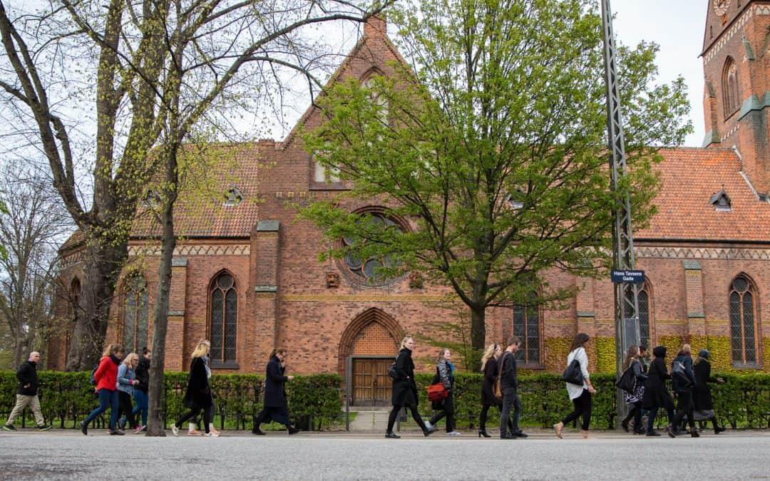 Unge fra Blågårds Plads sætter fokus på fællesskab og fritidsjob