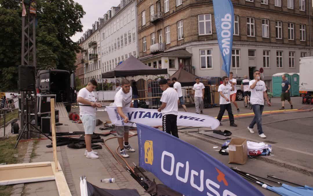 Ung arbejdskraft indtager københavnske events og festivaler