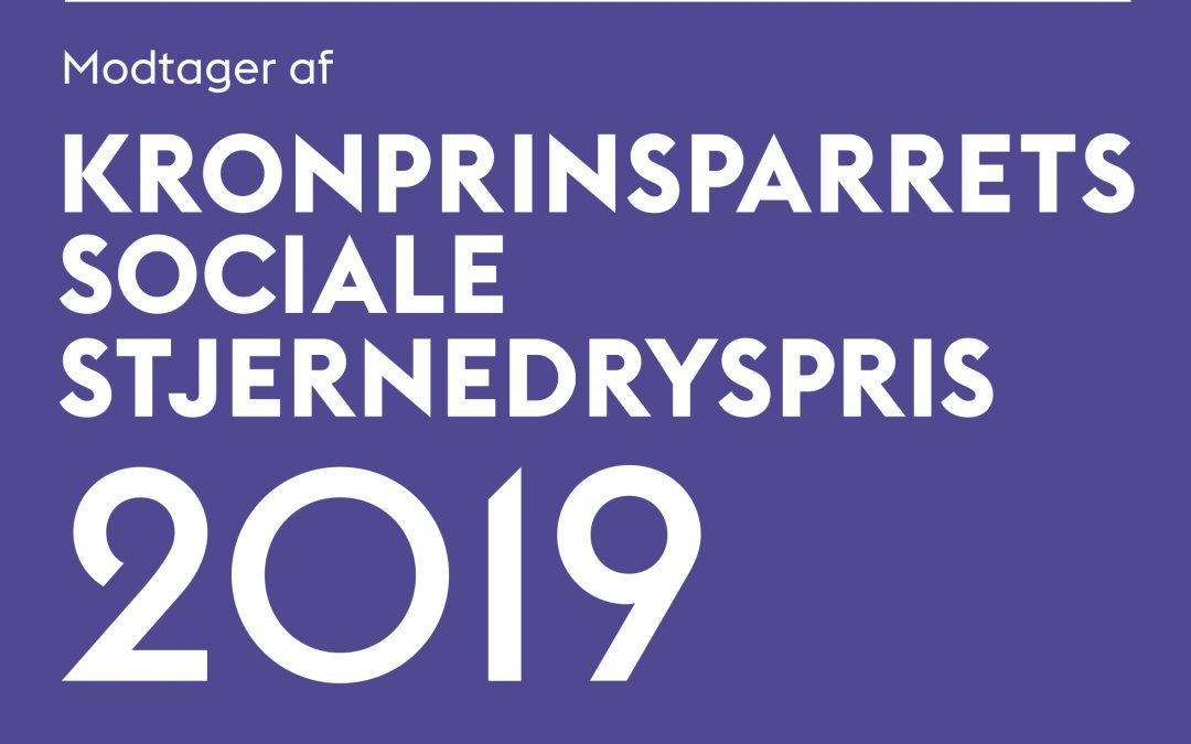 FRAK får Kronprinsparrets Sociale Stjernedryspris 2019!